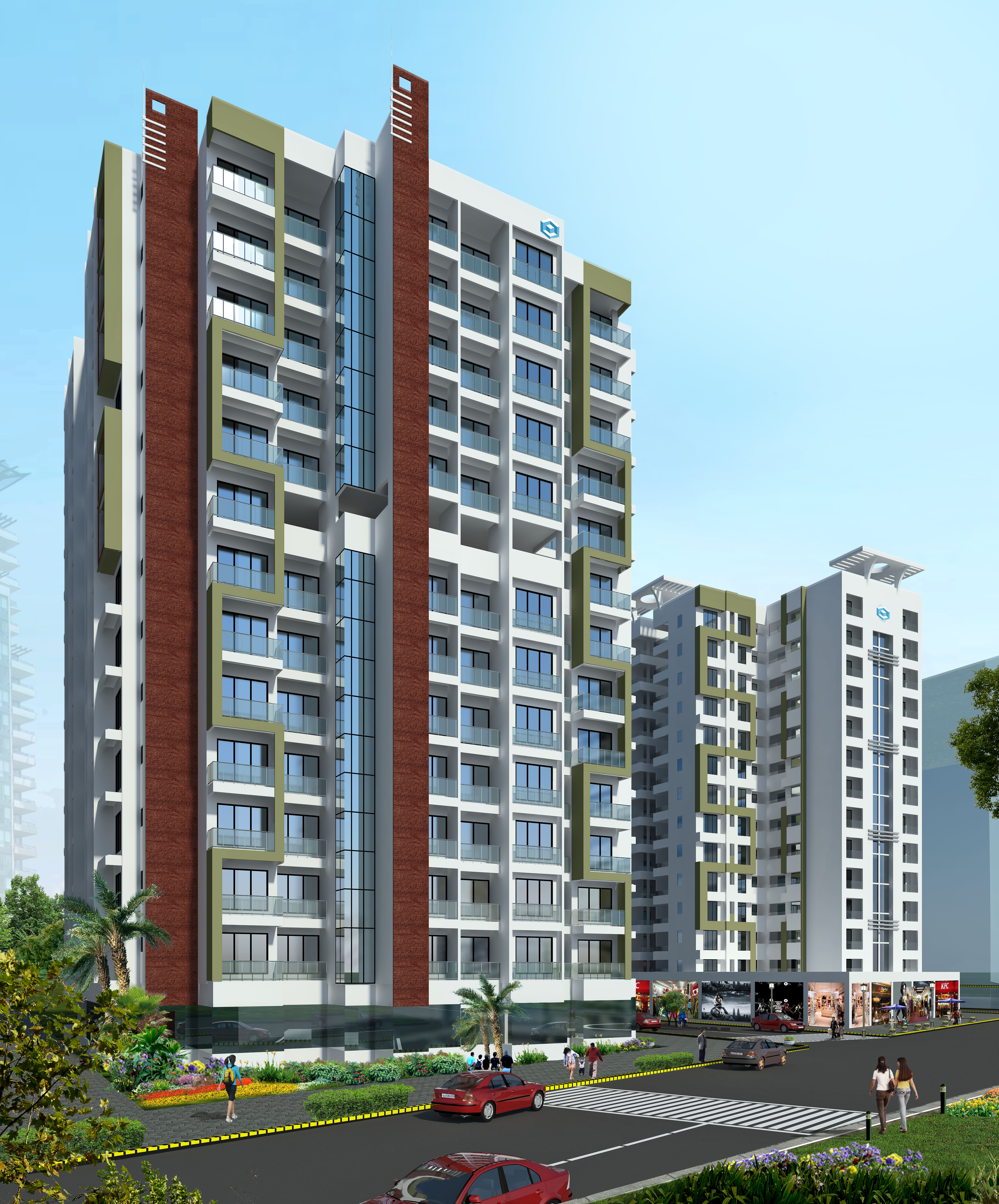 Hdil premier exotica drh53 for Jolly maker apartments cuffe parade